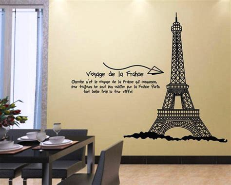 eiffel tower wall decor eiffel tower wall sticker peenmedia