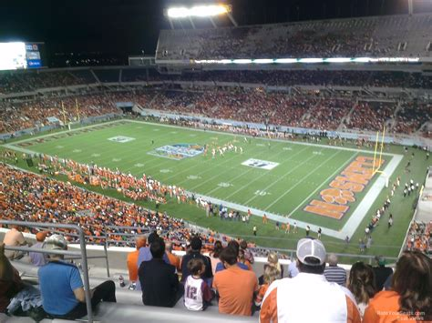 Bowl Section by Florida Citrus Bowl Stadium Section 202 Seat Views