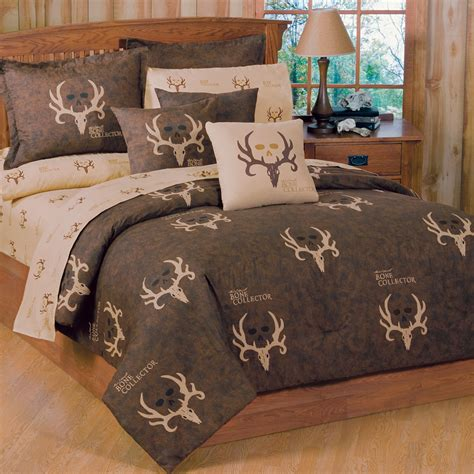 camouflage twin bedding twin size bone collector
