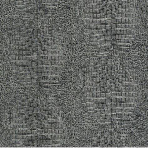 Tapisserie Croco by Papier Peint Intiss 233 Croco Noir Aluminium D 233 Coration