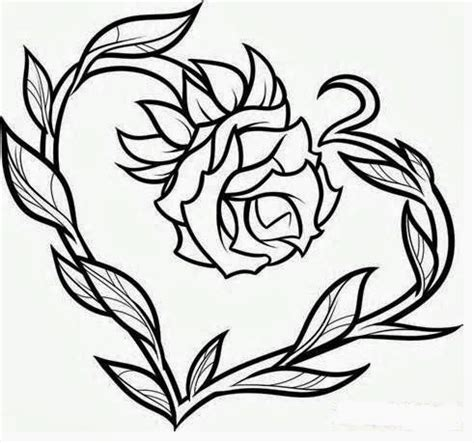 free rose tattoo designs to print tattoos book 2510 free printable stencils