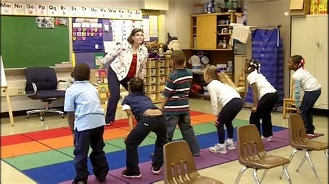 Töff In English by Action Words Part 1 Classroom Physical Activity Breaks