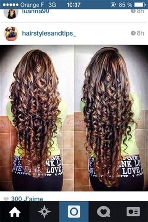 piggyback perms perms perms long hair and curly hair on pinterest