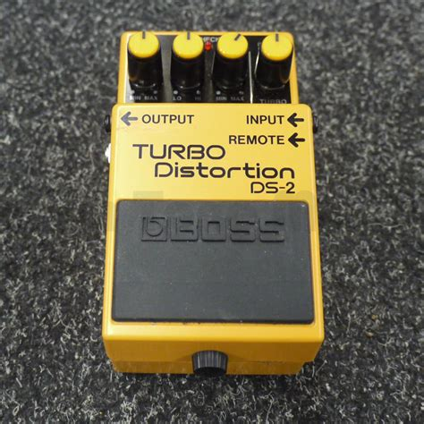 Harga Ds2 Turbo Distortion by Ds2 Turbo Distortion Pedal Ex Demo Rich Tone