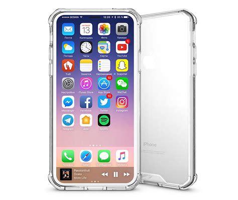 Transparent Iphone X iphone x transparent acrylic shockproof tpu protective