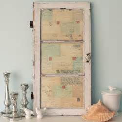 Vintage Wall Decor by Antique Window Of Postcards Decor Wall