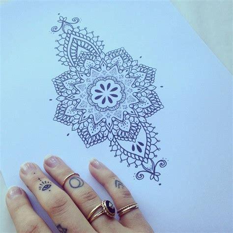 instagram tattoo mandala ellietattoo instagram mandala tattoo flash idea tattoo