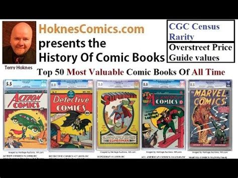 top 50 picture books top 50 most valuable comic books of all time golden silver