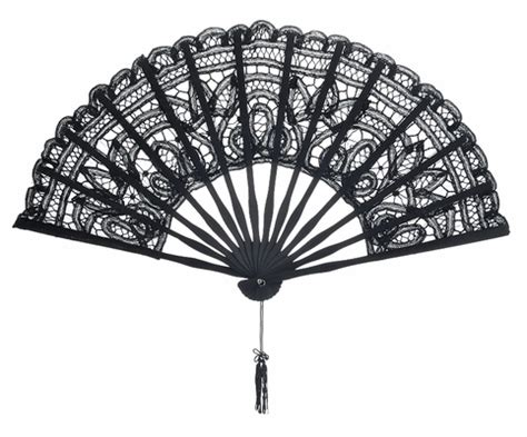 where to buy hand fans in stores 11 quot black chinese folding lace hand fan for weddings on sale
