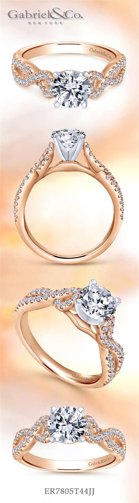 Ac 8457 Rosegold gabriel co voted 1 most preferred bridal brand