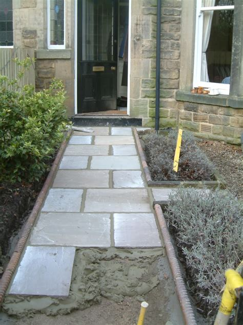 Front Path and Victorian Edging Tiles   Olive Garden