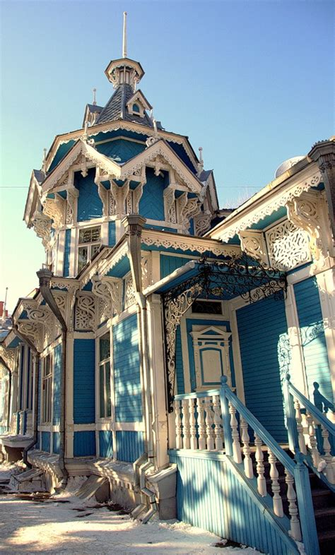 home in russian tomsk russia one of the oldest towns in siberia russian wooden gingerbread house ikea
