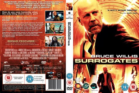 Where To Get Covers Surrogates 2009 R2 Dvd Cd Label Dvd Cover