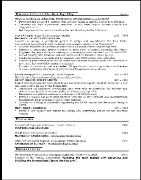 engineer resumes and coaching for executives