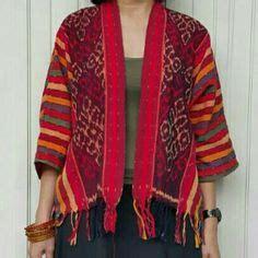 Dress Batik Genthong Broklat dress tenun buna kain tenun asal ntt pulau timor motif buna insana pakaian wanita