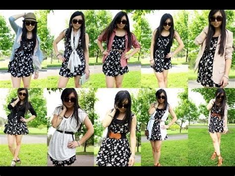 8 Ways To Wear Summer Clothes In Other Seasons by How To Wear A Summer Dress 10 Ways