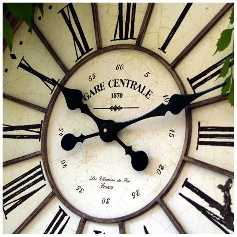 horloge de jardin jardin zinc011 horloge n1005