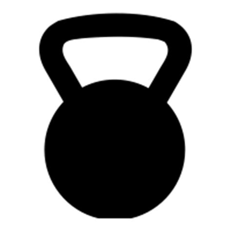 Kettlebell Clipart Outline by Kettlebell Icons Noun Project