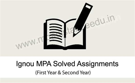Mba Distance Learning Ignou Vs Symbiosis by Ignou Ma Administration Solved Assignments 2017 18