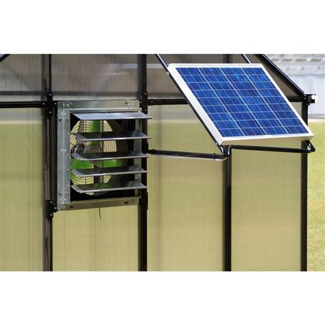 solar greenhouse fan with thermostat monticello greenhouse solar powered ventilation system