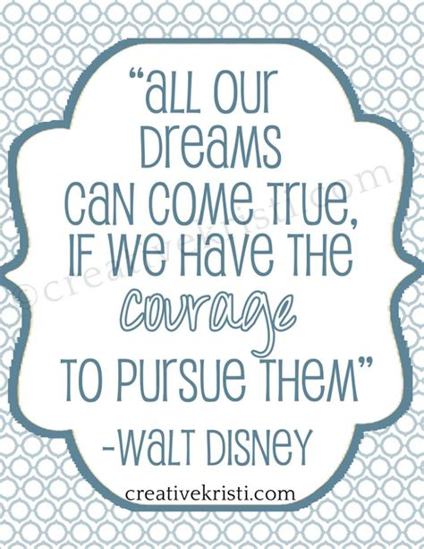 free printable disney quotes free printable walt disney quote from http www