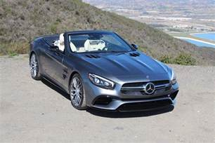 Mercedes Sl550 Review 2017 Mercedes Sl Class Drive Review