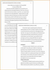 Apa Format Resume Apa Writing Style
