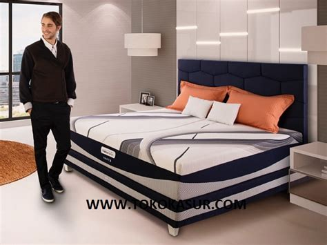 Ranjang Besi 160x200 therapedic agility x toko kasur bed murah simpati furniture