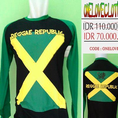 kaos kemeja reggae onelovecloth