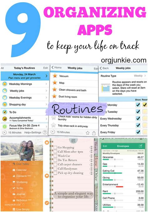 organizing life 9 favorite organizing apps to keep your life on track