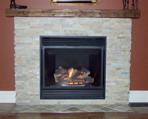 wood mantel fireplace traditional living room