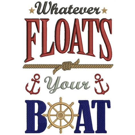 whatever floats your boat science project whatever floats your boat nautical marine filled machine