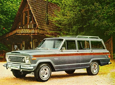 1976 Jeep Wagoneer 1976 Jeep Wagoneer Promotional Picture Classic Cars