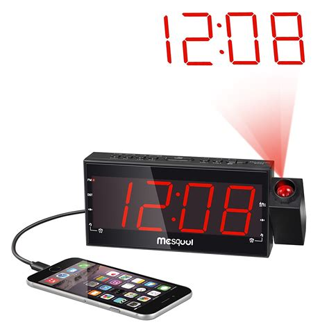 projection clock radio review best selection for you