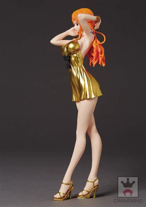 Dxf Grandline Gold Vol 02 Nami Ori バンプレスト8月登場予定アイテム ワンピース 金のドレスのセクシーなナミ 映画のdxfでサンジ ゾロ チョッパー チョッパーのぬいぐるみも hobby maniax ホビーマニアックス
