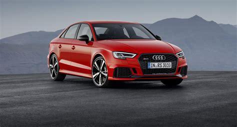 Audi Sedan by Official 2017 Audi Rs3 Sedan Gtspirit