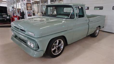 green gmc truck 1962 gmc g10 0 green truck 350 automatic for sale gmc