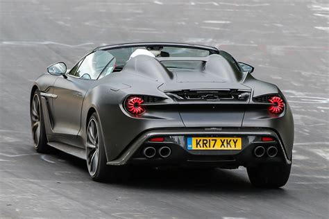aston martin zagato black zagato vanquish volante speedster to debut at pebble
