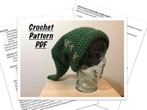 crochet pattern for zelda hat link hat crochet pattern 6 sizes instant download