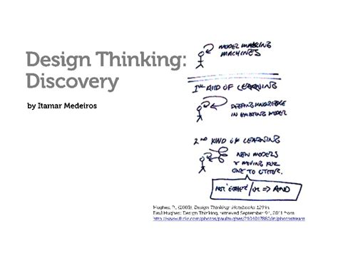 design thinking slideshare design thinking discovery