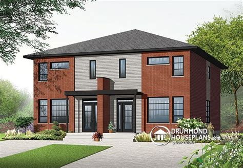 semi detached home design news drummond house plans official drummond house plans blog