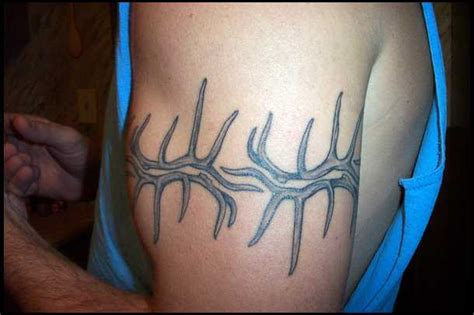 elk antler tattoo designs elk antler on arms www pixshark images