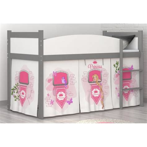 Princess Mid Sleeper by Loft Bed Mid Sleeper Princess Tower With Mattress And Curtains