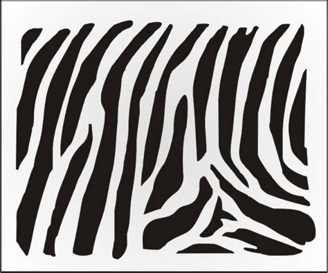 Tiger Print Clipart Stencil Pencil And In Color Tiger Print Clipart Stencil Stripe Stencil Template