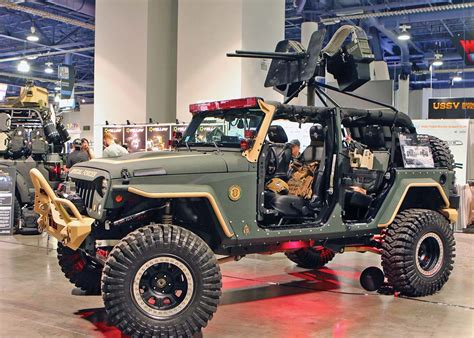 sema jeep 2016 sema show showtime atv illustrated