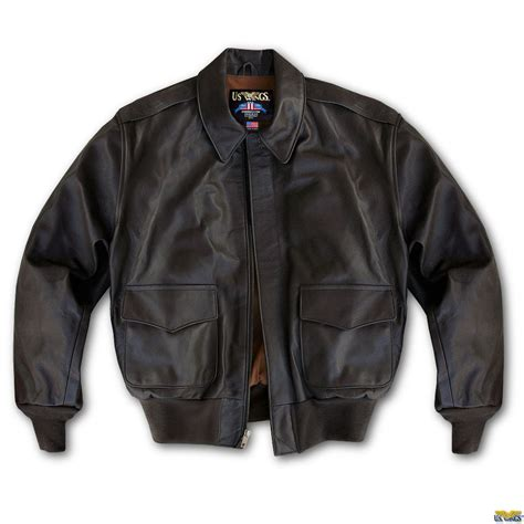 horsehide leather jacket bomber a 2
