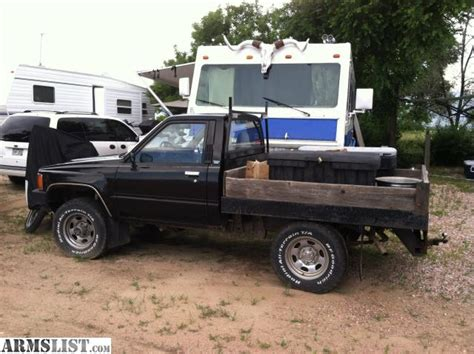 Toyota Flatbed For Sale Armslist For Sale 1984 Toyota 4 X 4 Flatbed