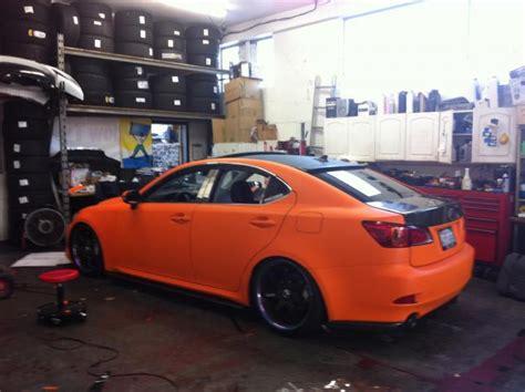 wrap my car just wrap my whole car to matt orange club lexus forums