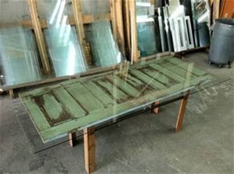 dining table dining table made old door glass topped dining table made from an old door ideas