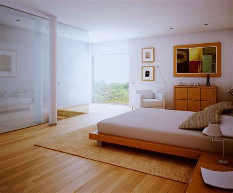 wooden interior design contemporary white bedroom wood floors design 2011